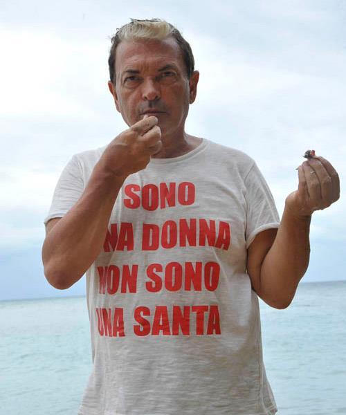 Cristiano Malgioglio sull'isola dei famosi