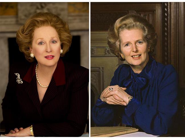 Meryl Streep nelle vesti di Margaret Thatcher
