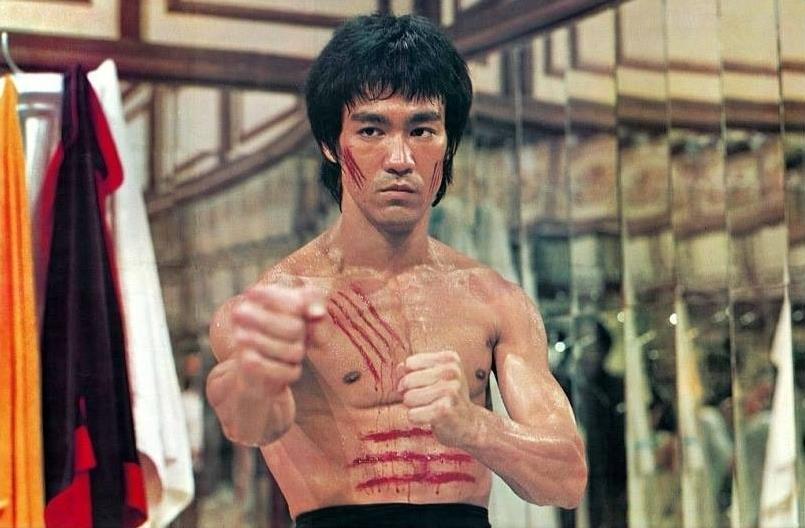 Bruce Lee in azione