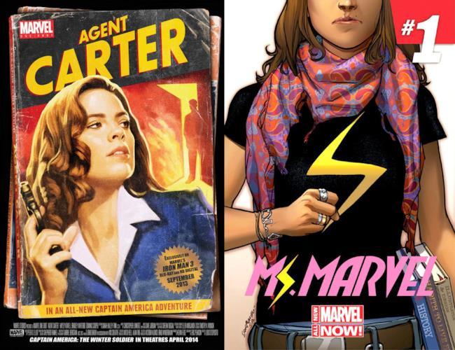 La serie Agent Carter e il possibile show su Kamala Khan