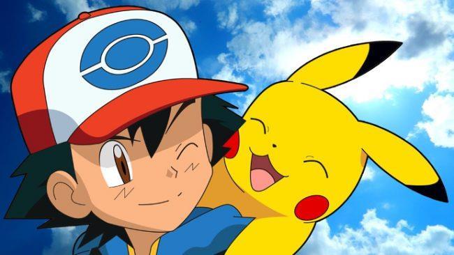 Una scena tratta dall'anime di Pokémon