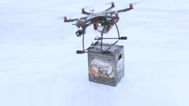 In Islanda i droni consegnano la birra a domicilio