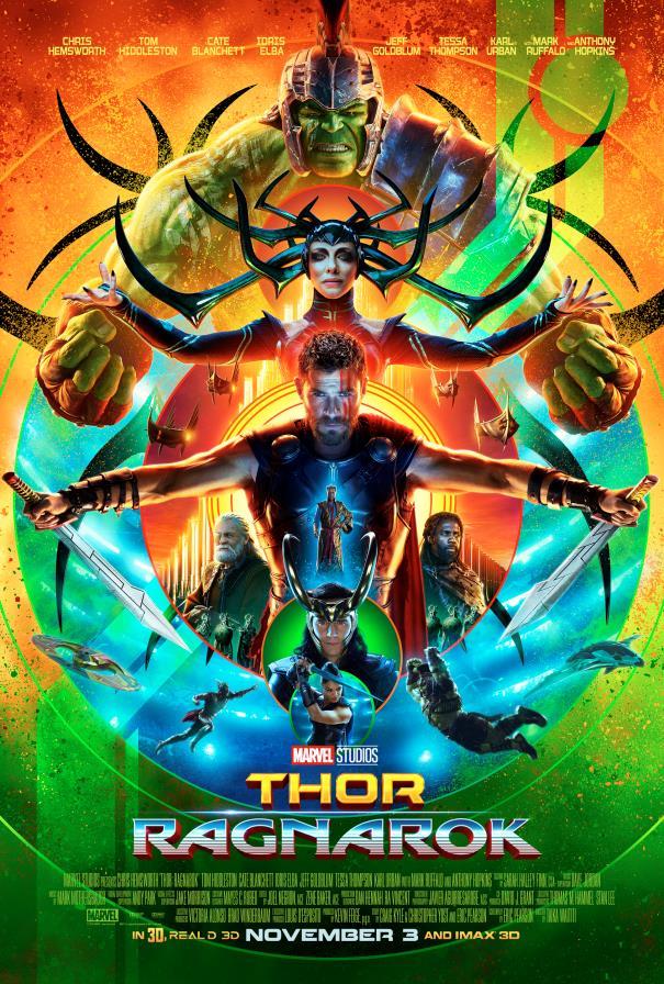 La locandina di Thor: Ragnarok