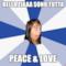 BELLA ZIAAA SONO TUTTA PEACE & LOVE