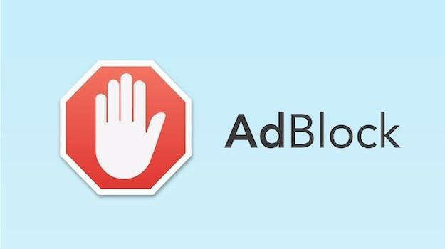 Immagine di presentazione dell'estensione AdBlock.
