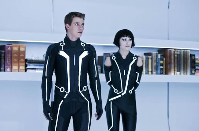 Garrett Hedlund e Olivia Wilde in Tron: Legacy