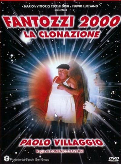 La locandina di Fantozzi 2000 – La clonazione