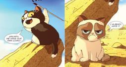 Grumpy Cat e Pokey saranno protagonisti di un fumetto tutto loro