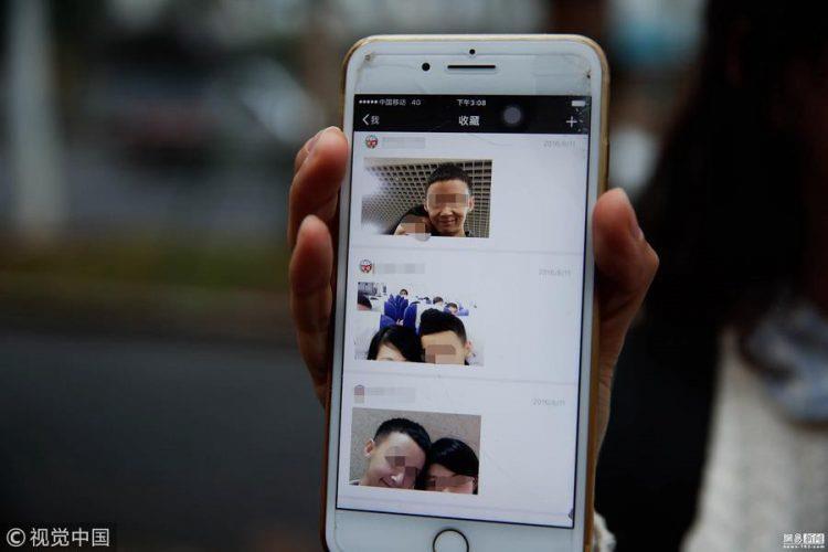 Wang e Qian sono stati una coppia per un anno prima che lei scoprisse la verità