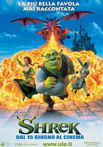 La locandina di Shrek