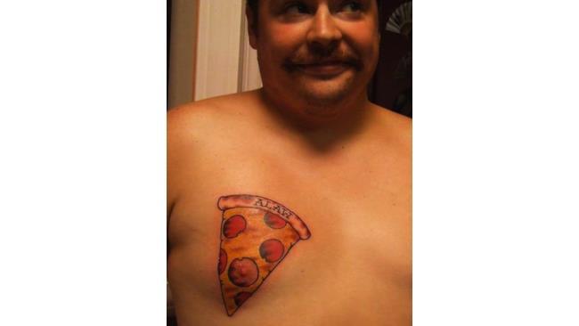 Una pizza al salame, grazie