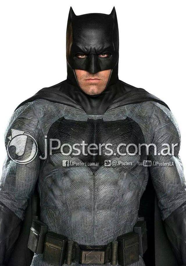 Ben Affleck in costume completo da Batman per Dawn of Justice