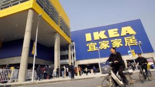Immagine di un negozio IKEA cinese