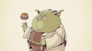 Yoda in versione obesa