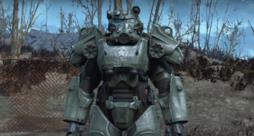 Un'armatura della saga di Fallout