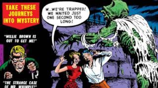 I disegni vintage del fumetto