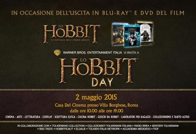 Warner Bros Italia ha annunciato lo Hobbit Day a Roma