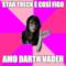 Star Treck è così figo Amo Darth Vader