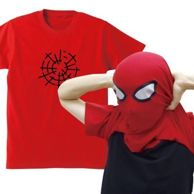 La simpatica T-shirt con l'eroe dei fumetti Spider-Man.