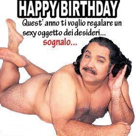 Immagine goliardica per augurare buon compleanno - Immagini sexy per il buongiorno, buon compleanno, buonanotte e buona domenica