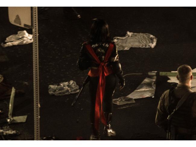 Il retro del costume di Katana in Suicide Squad