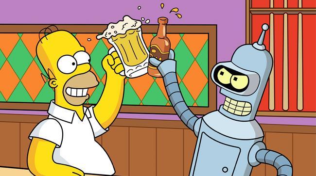 Simpson incontrano Futurama nella ventiseiesima stagione