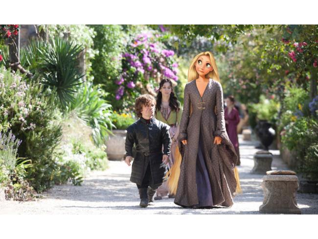 Rapunzel nei panni di Sansa Stark