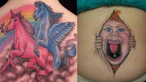 I tatuaggi che non hanno motivo di esistere