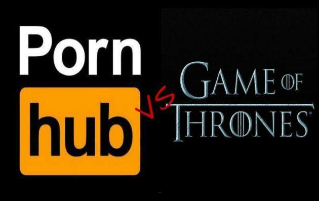 Lo scontro senza fine fra Pornhub e Game of Thrones