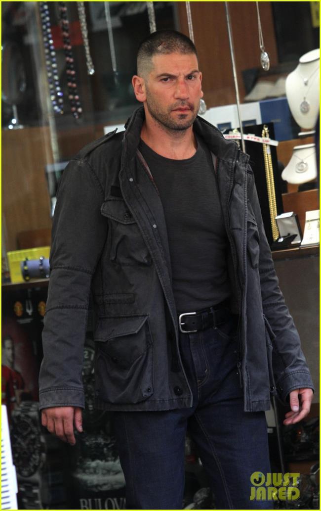 Jon Bernthal nella seconda stagione di Daredevil