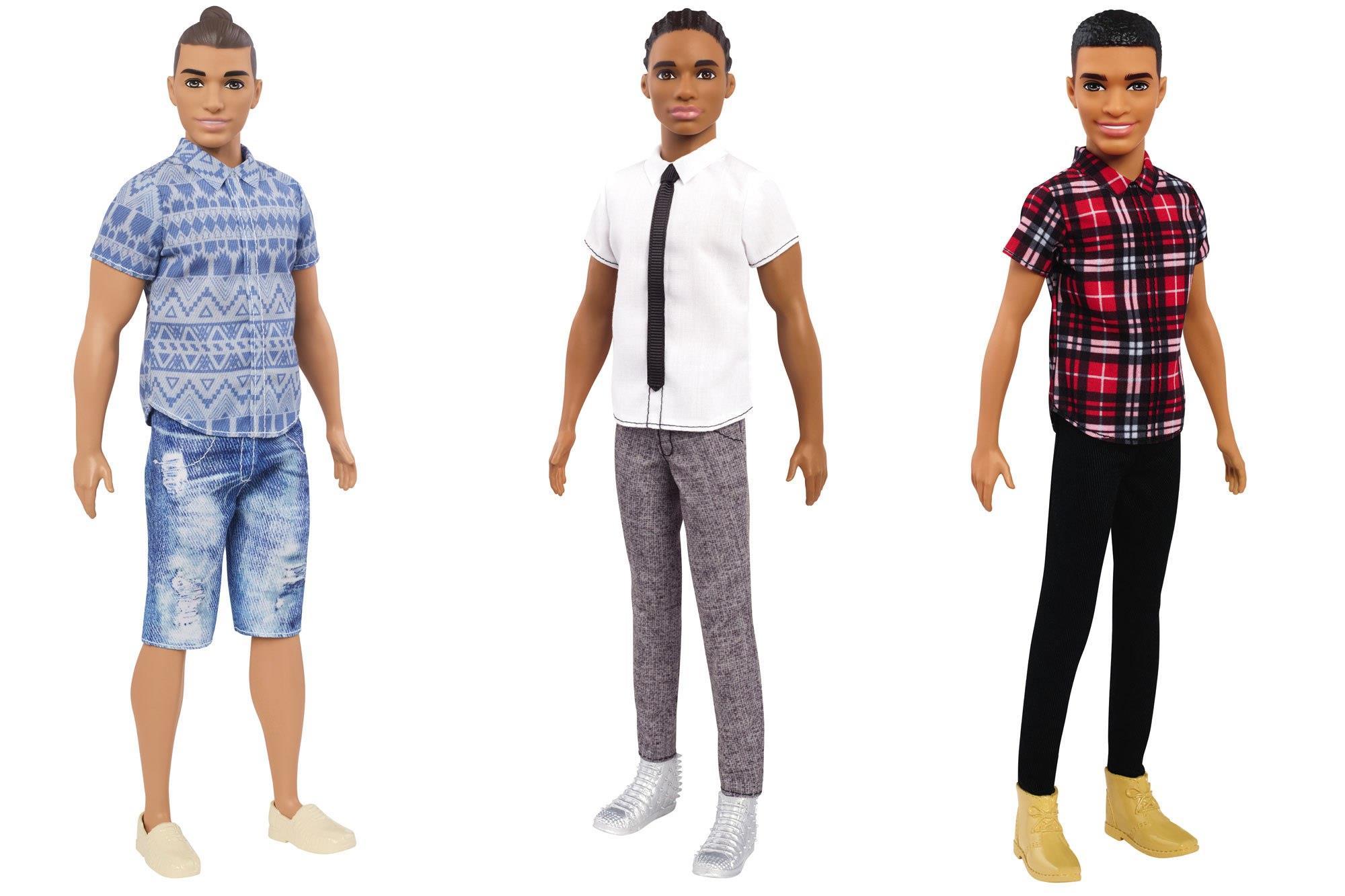 Ken nero nel nuovo design della Mattel