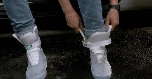 Le scarpe Nike di Ritorno al Futuro