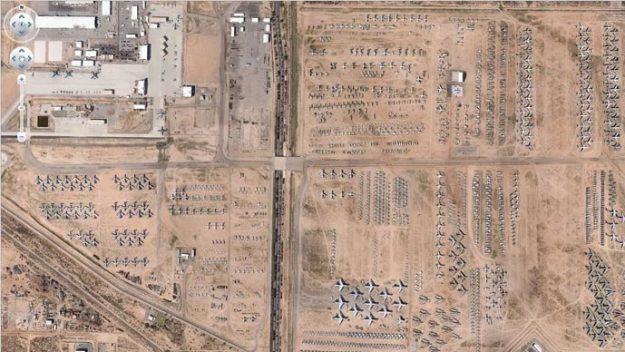 L'immenso cimitero degli aerei