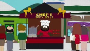 Lo chef di South Park canta la canzone delle salty balls