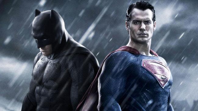 Batman e Superman in un'immagine promozionale di Dawn of Justice