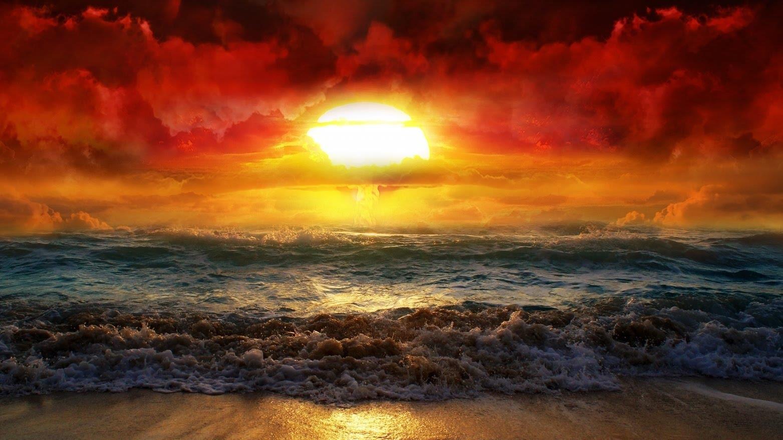 Il mare all'alba - Sfondi per PC, iPhone, Android e profilo WhatsApp da scaricare