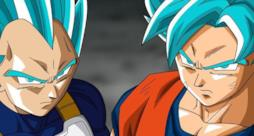 Goku e Vegeta Super Saiyan Blue