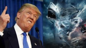 Trump da un lato e Sharknado dall'altro