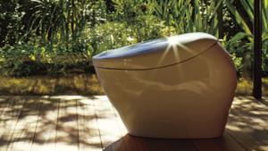 Toto Neorest NX2, il WC smart splende alla luce del sole