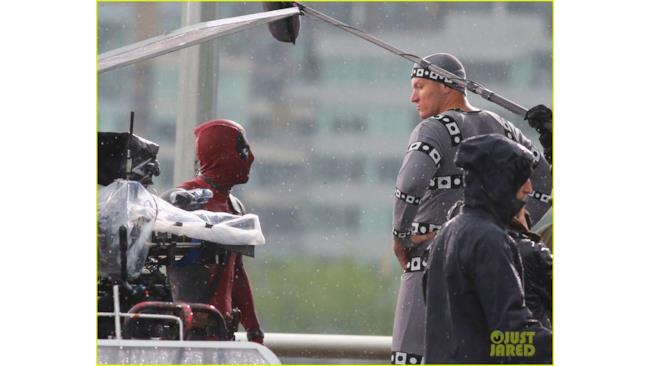 Deadpool e Colosso foto dal set cinematografico