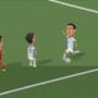 goal di Dì María a 8-bit