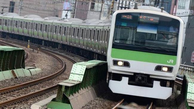 La foto di un treno.