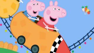 Peppa Pig in una scena del cartone accusato di razzismo