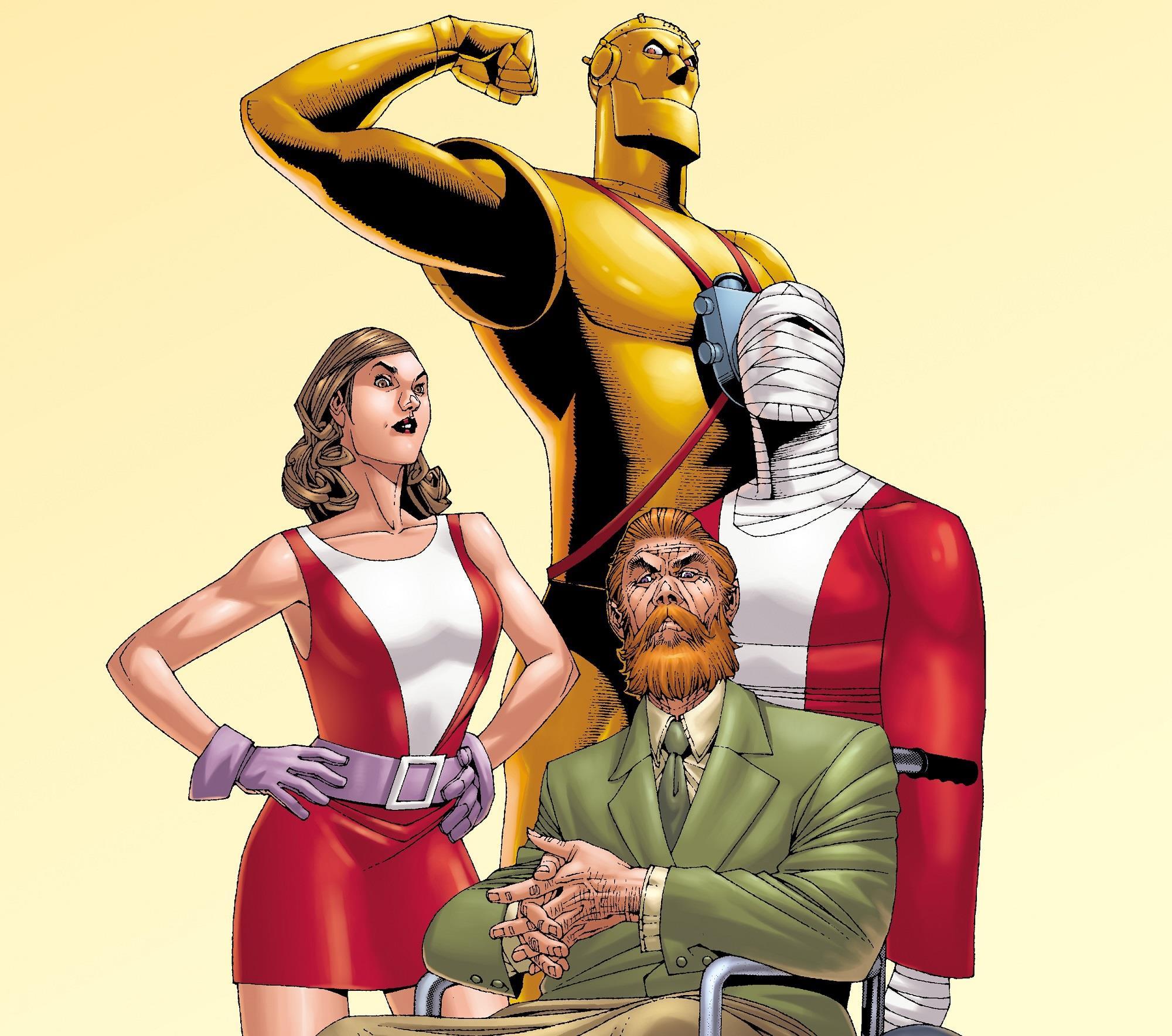 I Doom Patrol dai fumetti DC