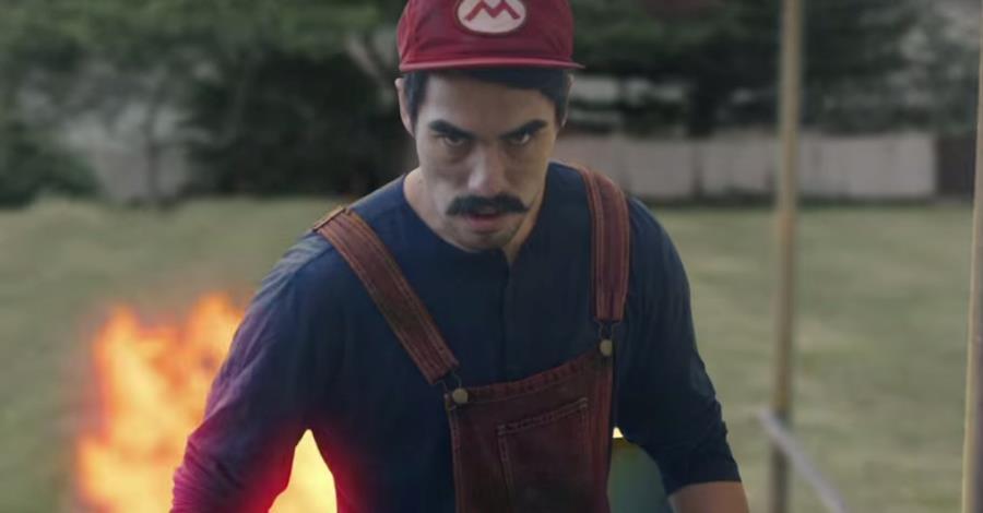 Mario Bros prende vita in Donkey Kong in Real Life