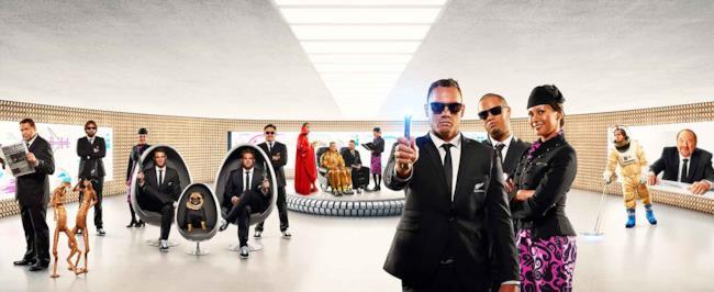 I Men in Black sono protagonisti del nuovo video di Air New Zealand