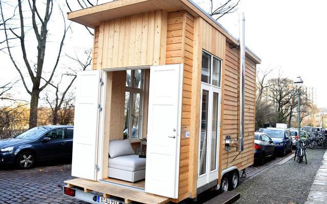 Una mini casa di Berlino