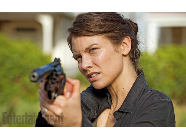 Maggie nelal sesta stagione di The Walking Dead