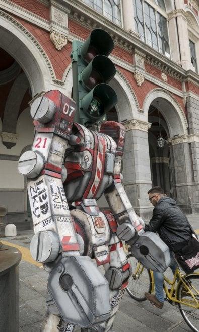 Il semaforo Transformer di Torino