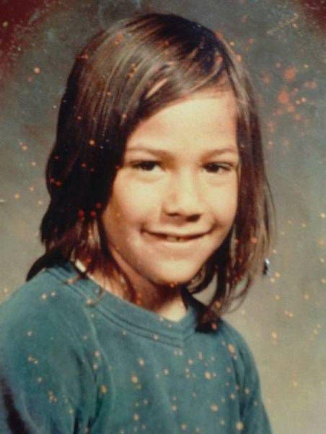 Un'immagine di Keanu Reeves da adolescente